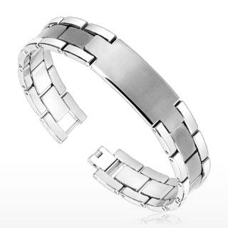 Bracelet homme tungstène Bulwark