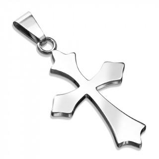 Pendentif croix celtique en acier