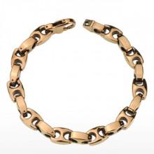Bracelet homme tungstène Copper Link