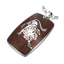 collier signe astrologique lion bijoux la mode. Black Bedroom Furniture Sets. Home Design Ideas